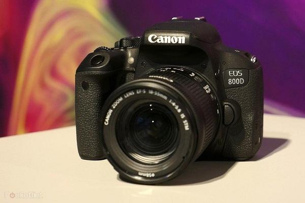 دوربین 800d در حال حاضر