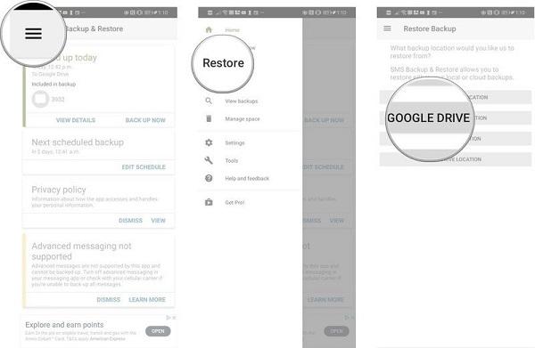 5 روش و برنامه پشتیبان گیری از Android SMS را بیاموزید
