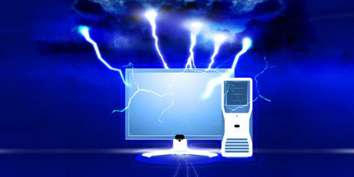 بررسی خطرات و تاثیر رعد و برق روی تلویزیون ، کامپیوتر و...