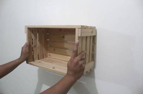 ساخت وسایل با جعبه میوه