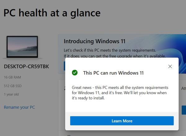 رفع ارور This PC Can't Run Windows 11
