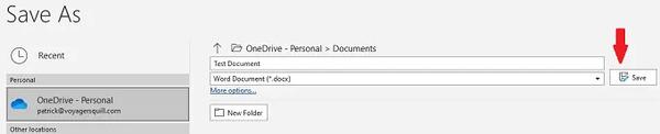 پشتیبان گیری خودکار از فایل Word
