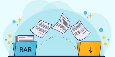 آموزش 4 روش استخراج و باز کردن فایل RAR در کامپیوتر