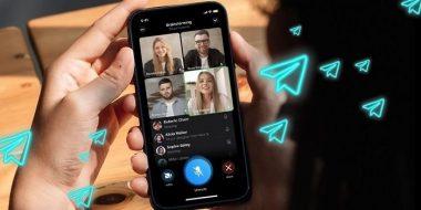 آموزش کامل نحوه برقراری تماس تصویری گروهی تلگرام