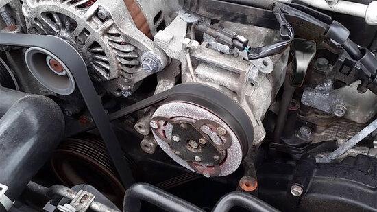خنک نکردن کولر ماشین