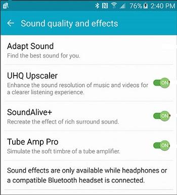 مشکل پخش موزیک در گوشی اندروید