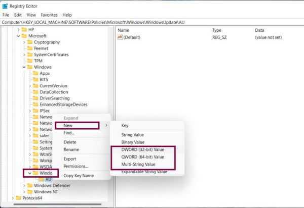 به روزرسانی خودکار ویندوز 11 را حذف کنید