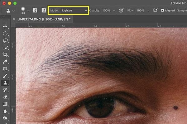 استفاده از Clone stamp tool در فتوشاپ