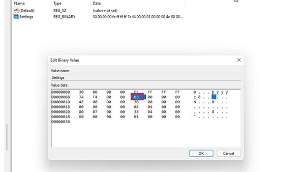 تنظیمات نوار وظیفه ویندوز 11