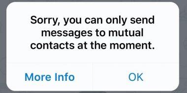 آموزش 2 روش حل مشکل ارور Mutual Contact تلگرام