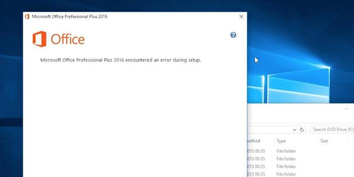 آموزش 4 روش رفع ارور Microsoft Office encountered error during setup آفیس