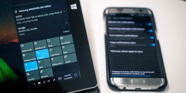 آموزش 3 روش دریافت و نمایش نوتیفیکیشن های گوشی در ویندوز 10