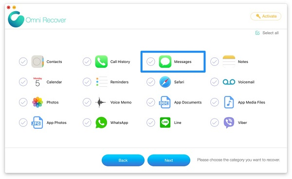 چگونه پیامک های پاک شده را در iPhone بدون پشتیبان گیری و رایانه بازیابی کنیم؟