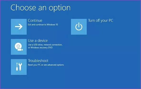 ویندوز 10 روی لپ تاپ بوت نمی شود