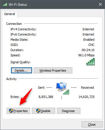 نحوه تغییر آدرس IP رایانه را بیاموزید