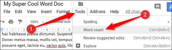 آموزش Google docs
