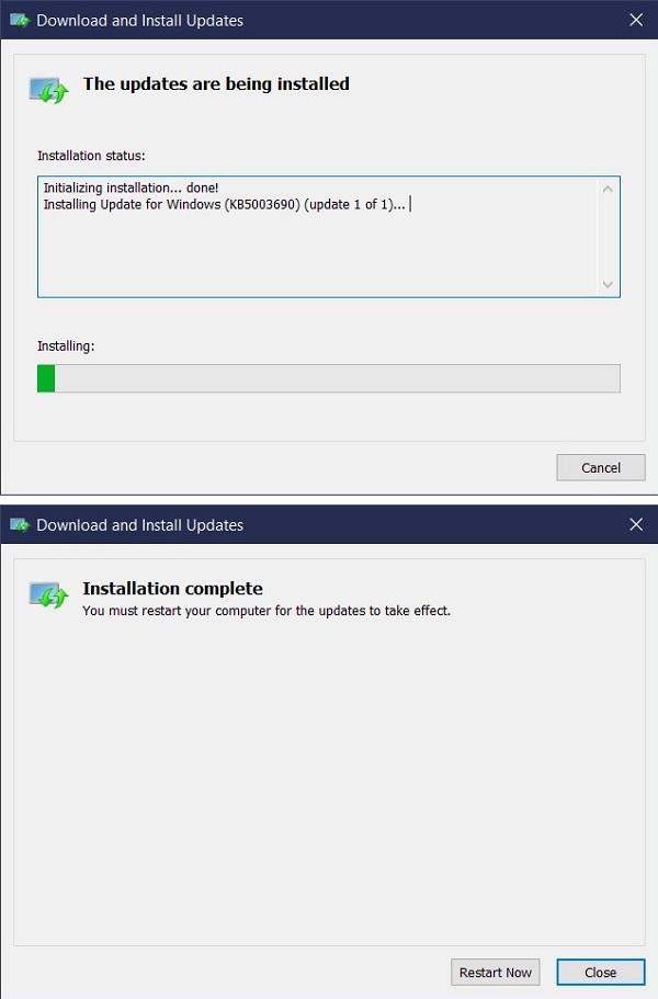 Нови функции за актуализиране на Windows 11