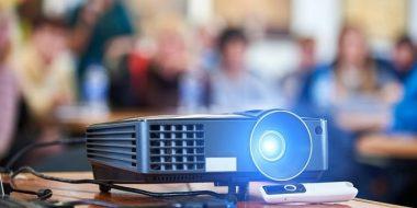 آموزش راه اندازی و استفاده از ویدئو پروژکتور