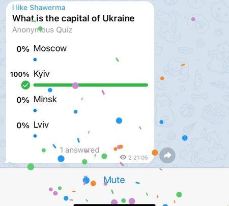 نظرسنجی در تلگرام چگونه است؟