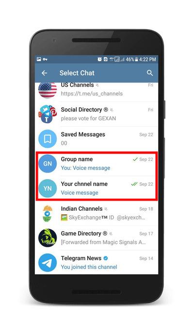 در تلگرام ناشناس نظرسنجی ایجاد کنید