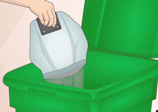 نحوه گذاشتن کیسه جاروبرقی بوش