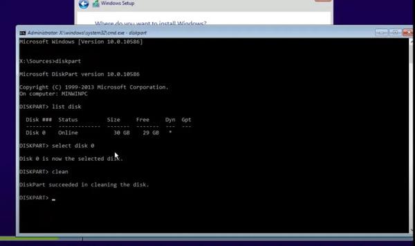 راه حل مشکل Windows cannot be installed to this disk
