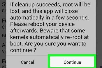 برنامه حذف روت گوشی