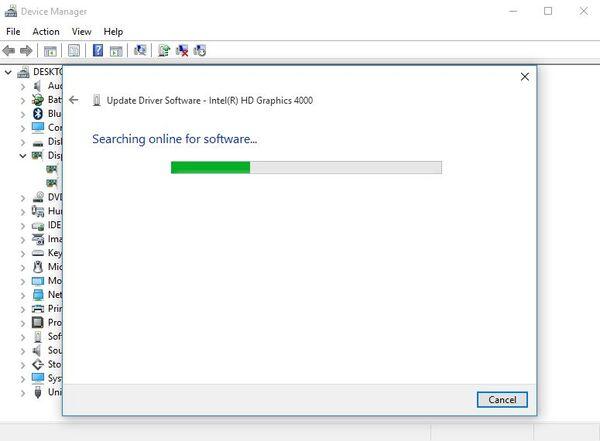 مشکل در تغییر نور صفحه لپ تاپ