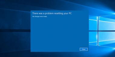 آموزش حل مشکل ارور There Was a Problem Resetting Your PC ویندوز 10