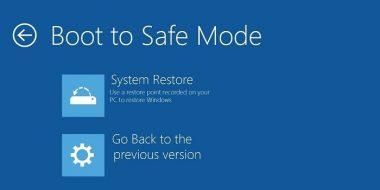 روش حل مشکل نرفتن و بالا نیامدن Safe Mode در ویندوز 10 ، 11 ، 7 و..