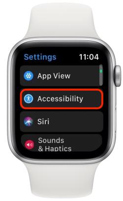 مقیاس ساعت اپل را حذف کنید
