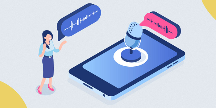 آموزش استفاده از تایپ صوتی فارسی و انگلیسی گوگل در گوشی اندروید
