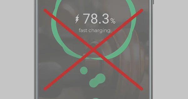 شارژ سریع ممنوع است