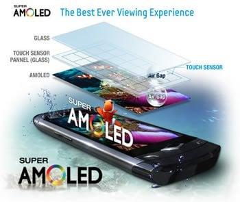 معایب صفحه نمایش super amoled