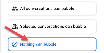 چگونه پنجره های بازشو برای Android را غیرفعال کنم؟