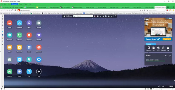 نرم افزار اتصال گوشی اندروید به ویندوز 10