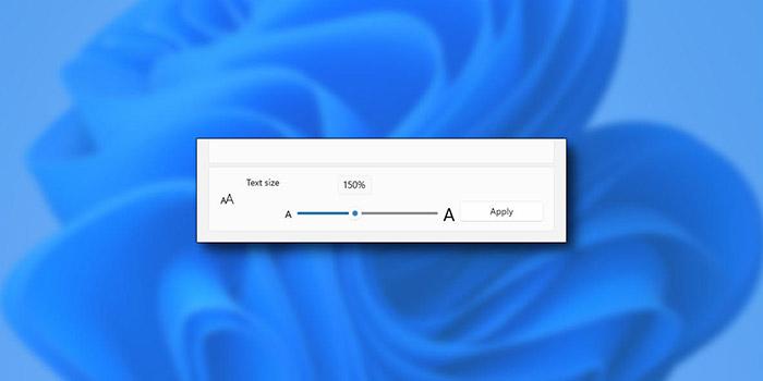 آموزش 5 روش تغییر اندازه فونت در ویندوز 10 و 11
