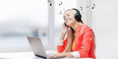 تاثیر موزیک در کار