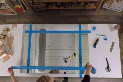 ساخت آینه هالیوودی