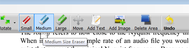 نحوه کار با PDF eraser