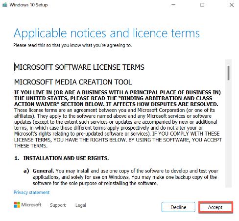 چگونه نسخه ویندوز را قدیمی کنیم