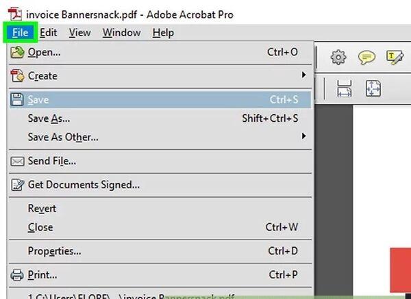 حذف کلمه در PDF