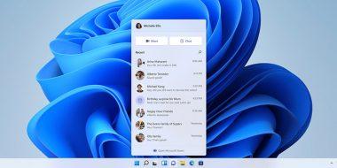 آموزش 4 روش حذف آیکون چت و مایکروسافت تیمز از ویندوز 11